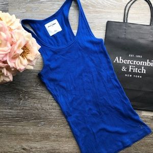 Girls Abercrombie Blue Razorback
